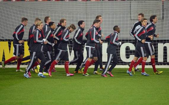 Ajax traint in Boekarest