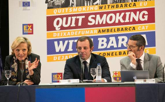 'I don't even support Barcelona but I love it!' - Goal.com review Barca's quit smoking app