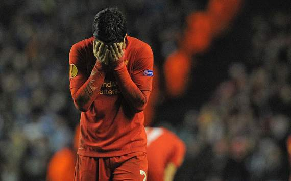 Luis Suárez, Europa League, Liverpool