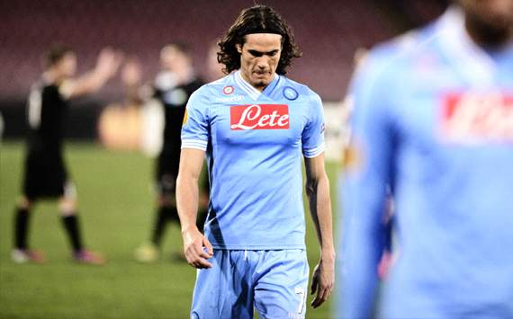 Edinson Cavani, Europa League, Napoli