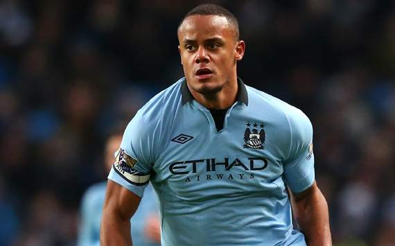 Manchester City captain Kompany in line for Belgium appearance