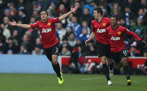 EPL - Queens Park Rangers v Manchester United, Rafael