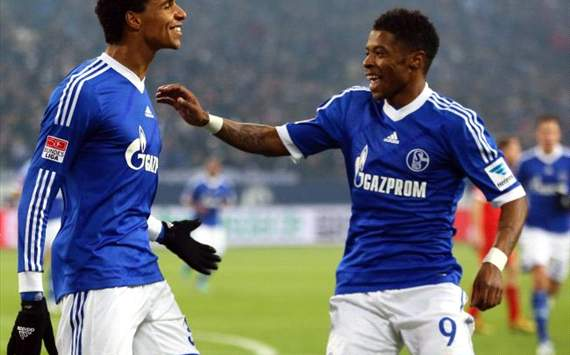 Joel Matip, Michel Bastos - FC Schalke 04
