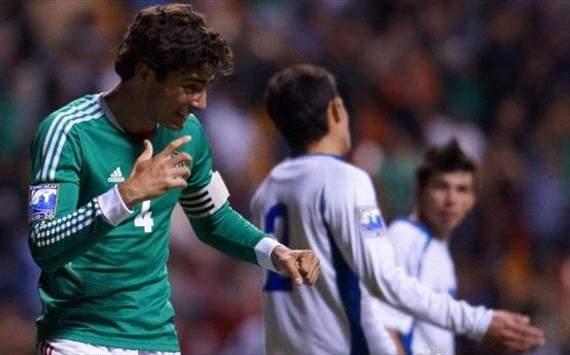 Premundial de CONCACAF: Eliminatorias Copa Mundo Turquia 2013: El Salvador 0 Mexico 3. 257993hp2
