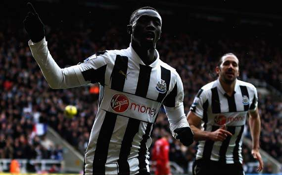 EPL; Papiss Cisse; Newcastle United v Southampton