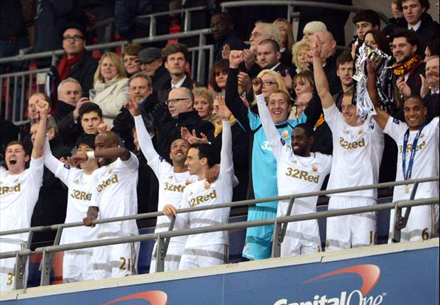 Word on the Tweet: Swansea bask in Wembley glory