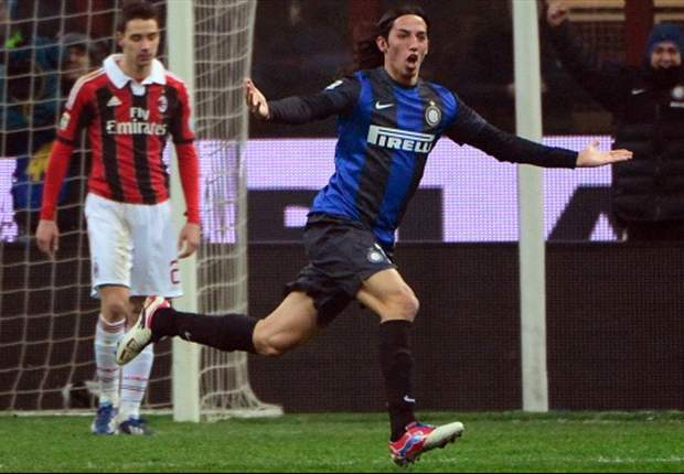 Schelotto expresses derby goal joy