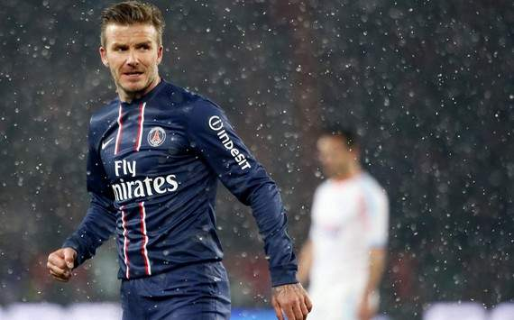 David Beckham ser titular en PSG frente al Olympique Marsella
