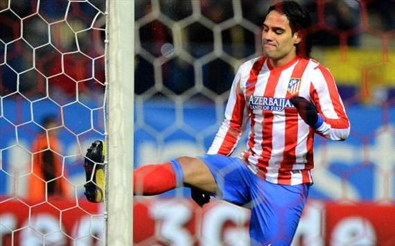 Falcao: We want to lift Copa del Rey at Bernabeu