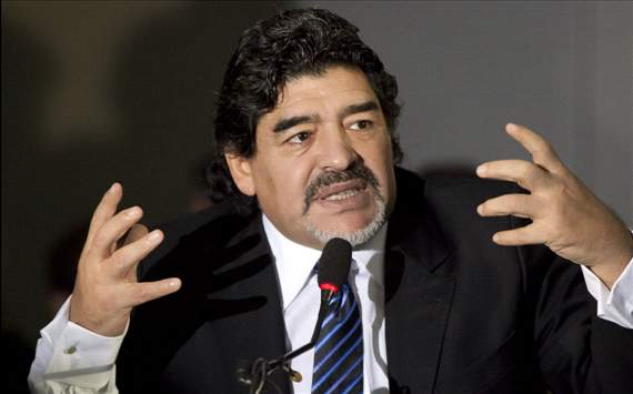 Maradona wants to be next Montpellier coach, says agent