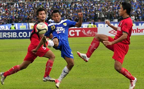 Persib vs PSPS (GOAL.com/Antara)