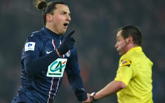 Coupe de France : Zlatan Ibrahimovic (Paris SG vs Olympique de Marseille)