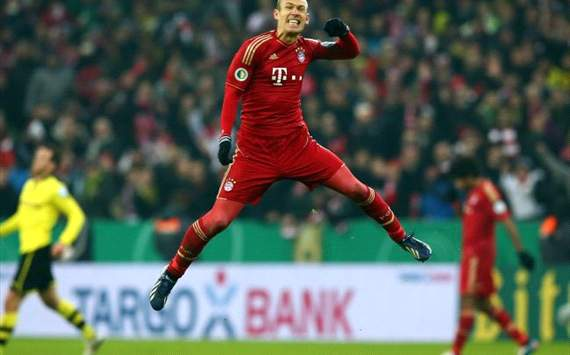 Robben is a phenomenon, says Scholl