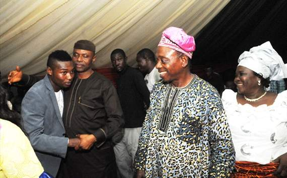 Oboabona receives honour from Mimiko