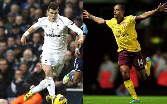 Bale and Walcott: A walk down memory lane with the crucial North London derby approaching