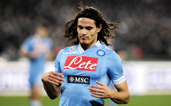 Napoli president confirms Cavani-Dzeko talks