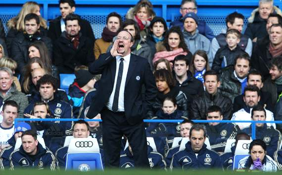 Chelsea enjoying great season - Benitez
