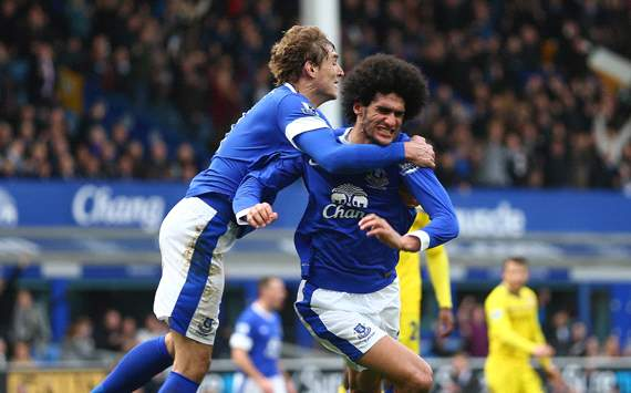 Everton v Reading,  Marouane Fellaini