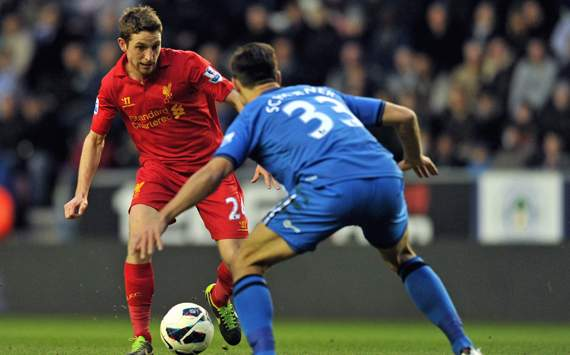 Liverpool midfielder Allen to miss three months after shoulder operation