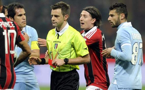 Rizzoli robs supporters of a spectacle as Milan march towards top-three finish