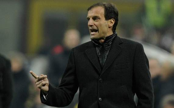 Allegri: Red card cost us energy for Barcelona