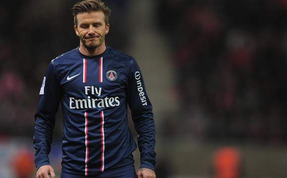 Is David Beckham still Champions League quality?
