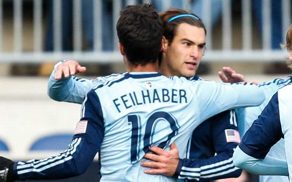 Graham Zusi and Benny Feilhaber - Sporting KC