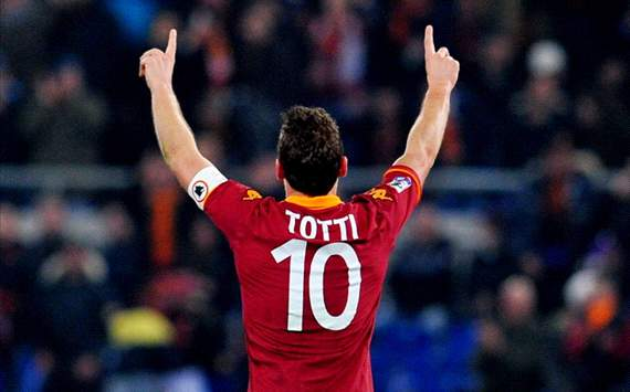 Francesco Totti - Roma-Genoa - Serie A