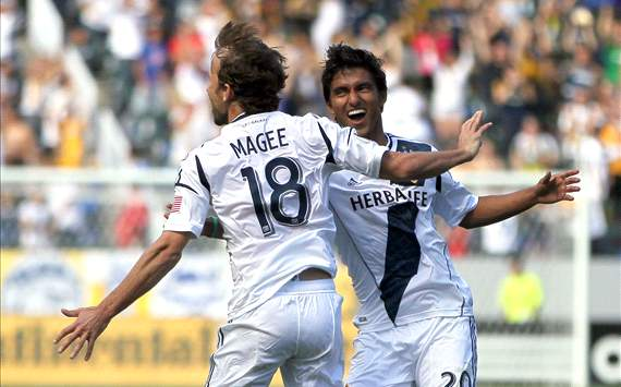 A.J. DeLaGarza, Mike Magee, LA Galaxy, MLS