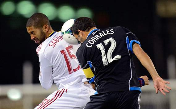 Alvaro Saborio, Real Salt Lake; Ramiro Corrales, San Jose Earthquakes; MLS