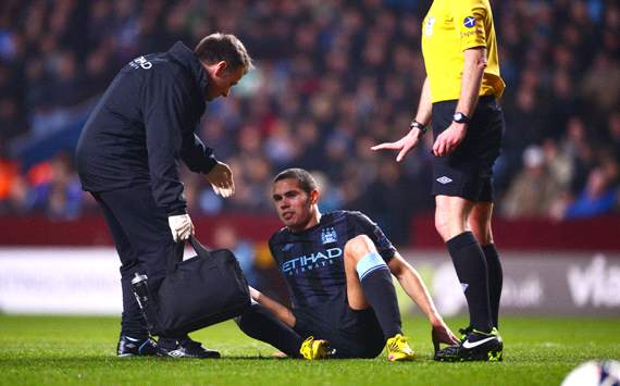 Injury-plagued Rodwell faces uncertain future at Manchester City