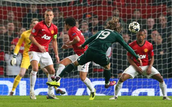 UEFA Champions League, Manchester United v Real Madrid, Luka Modric