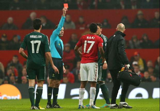 Nani red card was justified, insists Roy Keane