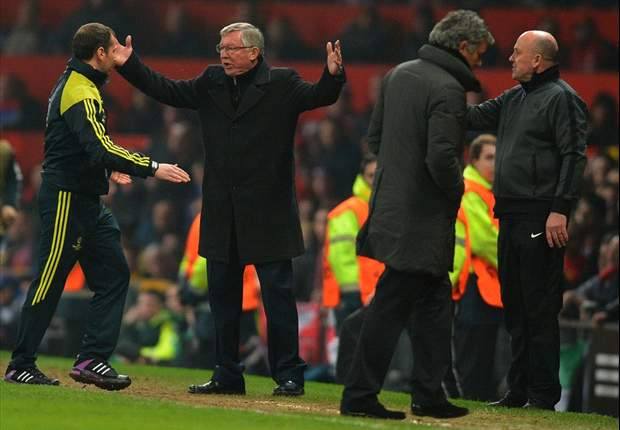 Sir Alex Ferguson proves he is still the boss despite cruel Champions League exit