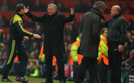 Ferguson proves he is still the boss despite cruel Champions League exit
