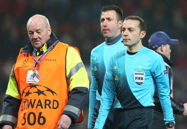 Turkish Football Federation denies referee Cuneyt Cakir's interview over Nani red card