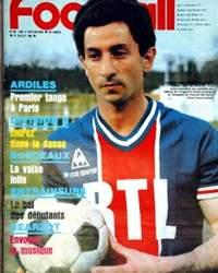 Ardiles, en la tapa de France Football