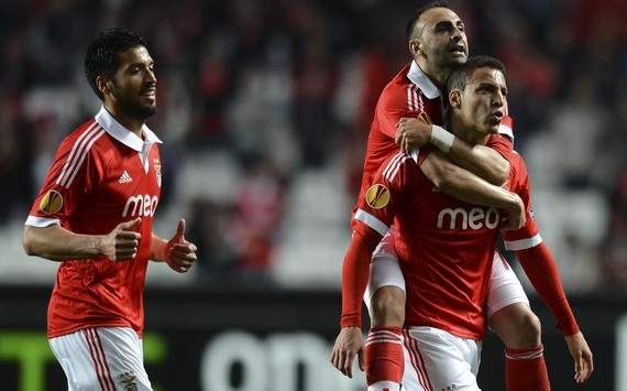 UEFA Europa League : Rodrigo &amp; Carlos Martins (SL Benfica vs Girondins de Bordeaux)