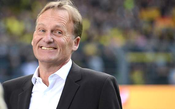 Watzke: Dortmund must improve if they are to progress in the Champions League