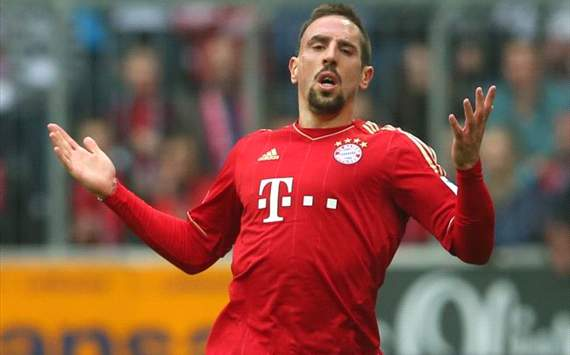 Ribery ruled out of Arsenal clash