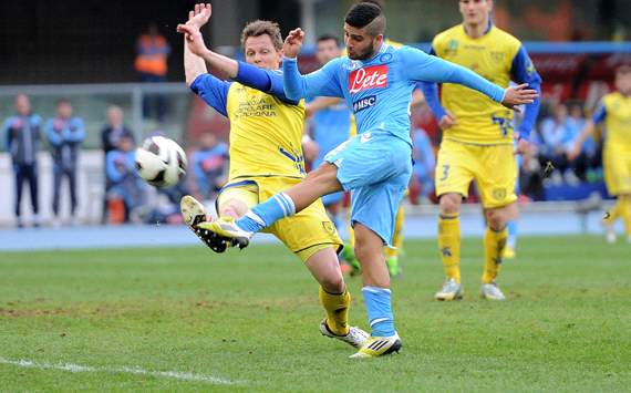 Lorenzo Insigne - Chievo-Napoli