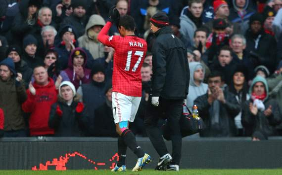 Sir Alex Ferguson allays Nani injury fears