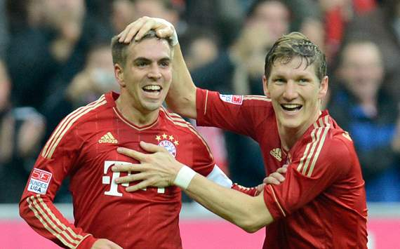 FC Bayern Mnchen: Philipp Lahm &amp; Bastian Schweinsteiger