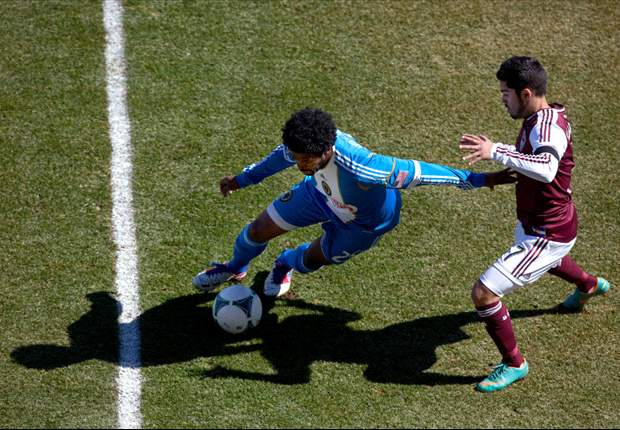 Colorado Rapids 1-2 Philadelphia Union: Rapids lose their first home opener in 10 years