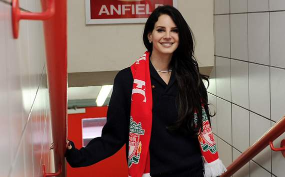 Extra Time: Lana Del Rey Born to Die for Liverpool after Anfield visit