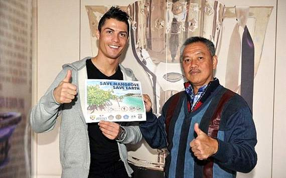 Ronaldo new ambassador for mangrove conservation in Indonesia