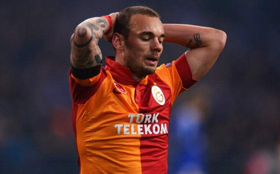 Wesley Sneijder's top level career is over