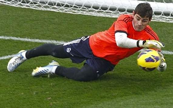 Real Madrid handed Casillas fitness boost