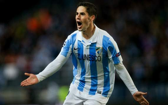 Isco would follow Pellegrini to Man City