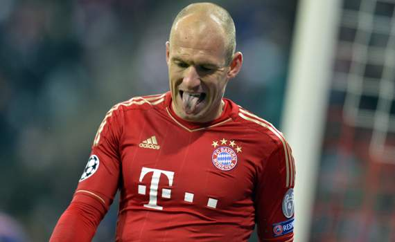 Robben yearning for Champions League glory
